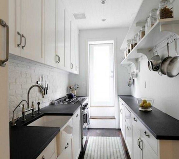 Awesome Small Galley Kitchen Of Gallery Designs