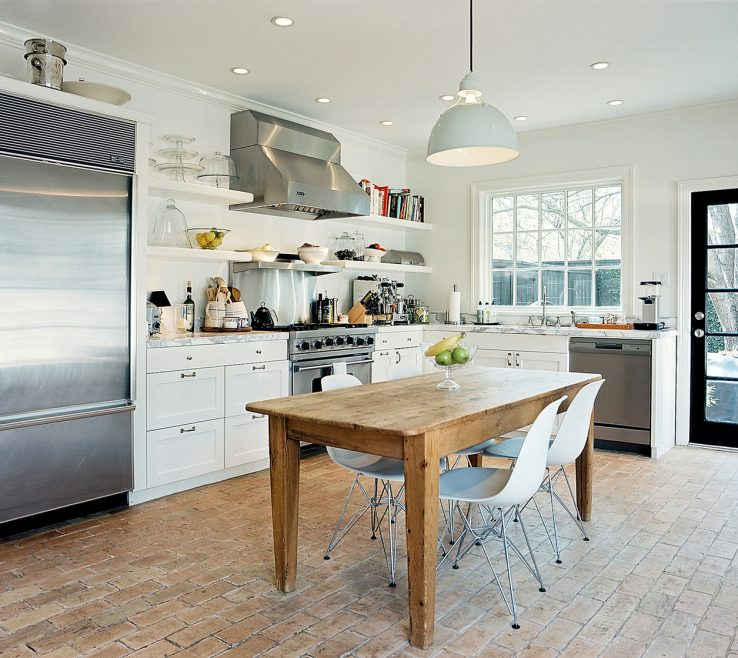 Awesome White Rustic Kitchen