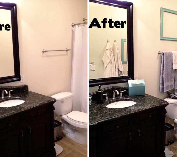 Bathroom Makeovers Before And After Of But The Master Is Five Steps