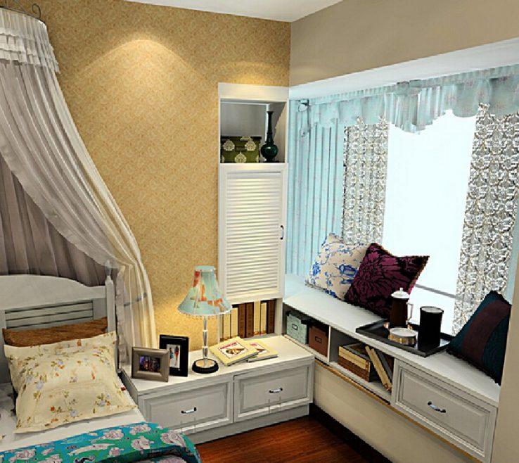 Bay Window Bedroom Of Nostalgia Ideas