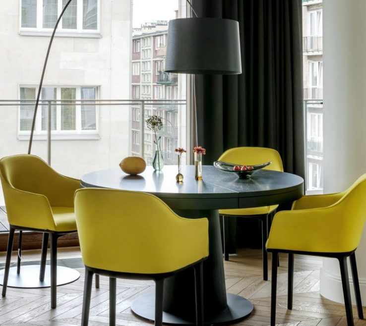 Beautiful Dining Room Floor Lamps Of Designed By Anna Koszela, This Elegant Contemporary