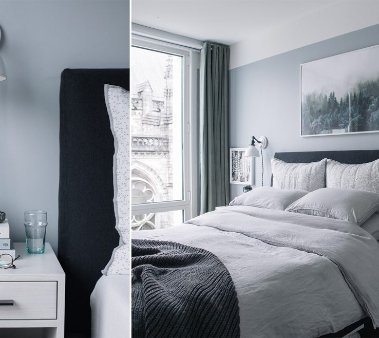 Beautiful Gray Bedroom Decor Of Inspiration