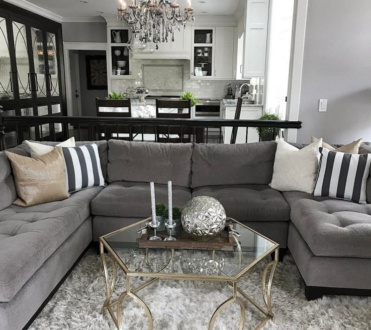 Beautiful Grey Living Room Decor Of Change Up The Gray Couch With And