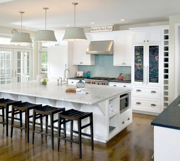 Beautiful Luxury White Kitchen