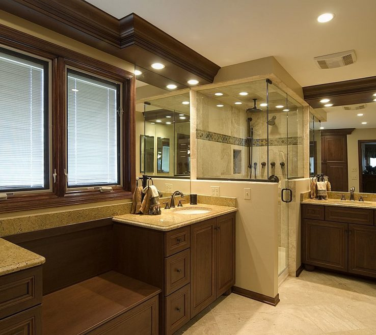 Beautiful Master Bathroom Ideas Photo Gallery Of Lighting