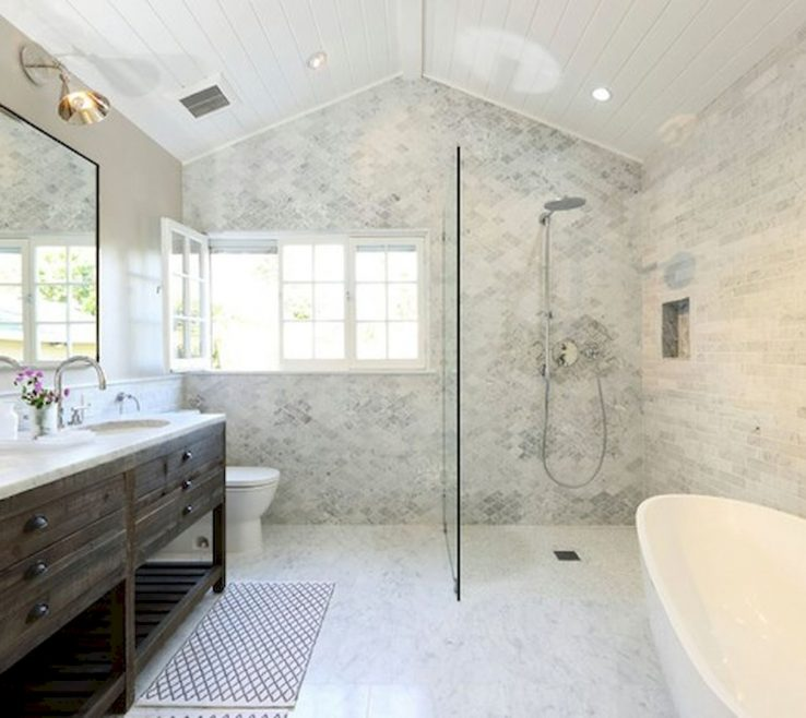Beautiful Master Bathroom Showers Of 60 Shower Remodel Ideas (25)