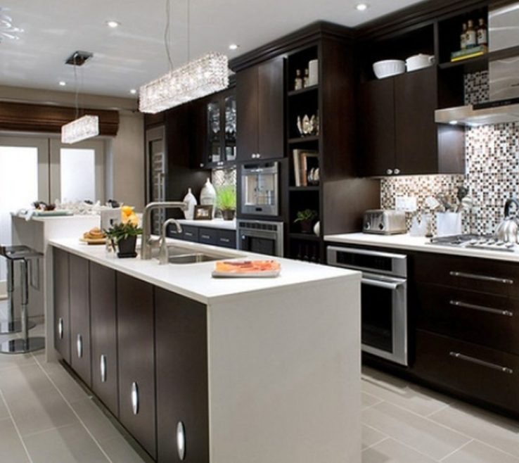Beautiful Modern Kitchen Of White S Best White For S Wall