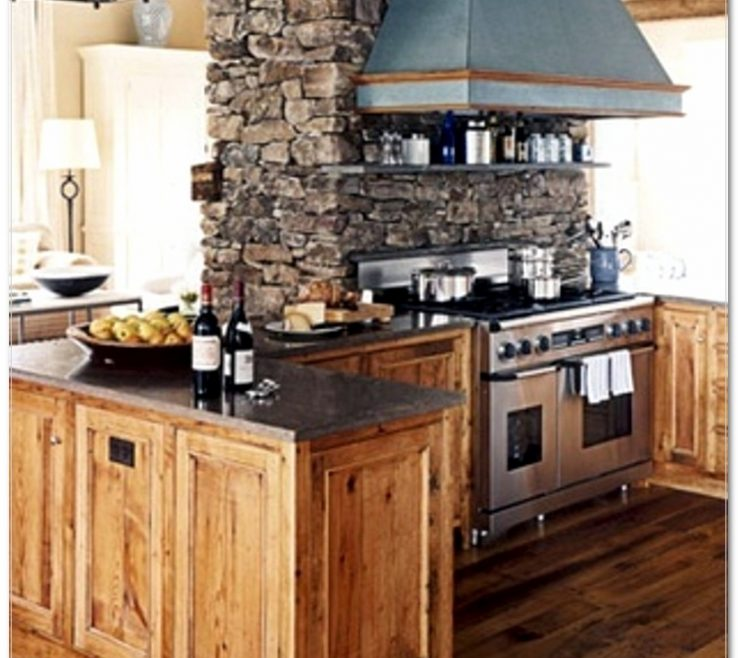 Beautiful Modern Rustic Kitchen Designs Of Design Kitchen