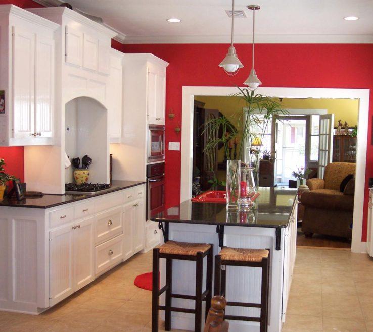 Beautiful Red Kitchens Of Kitchen Theme Ideas
