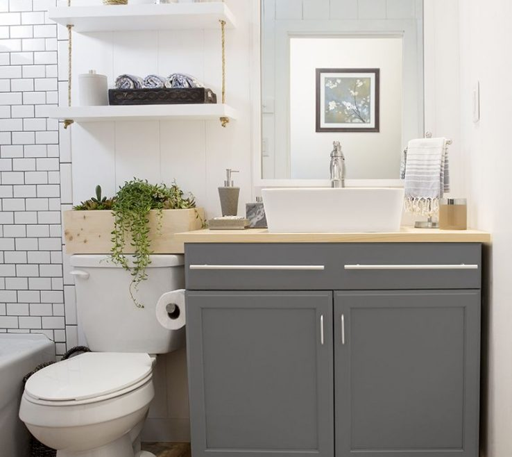 Beautiful Very Small Bathroom Storage Ideas Of Shelves Over Toilet