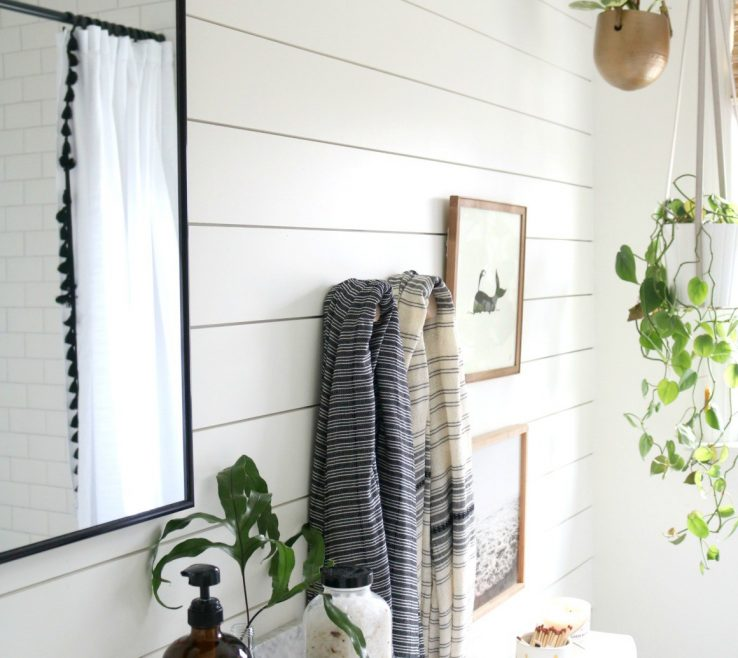 Best Bathrooms Of Azek The Shiplap Look In A Bathroom