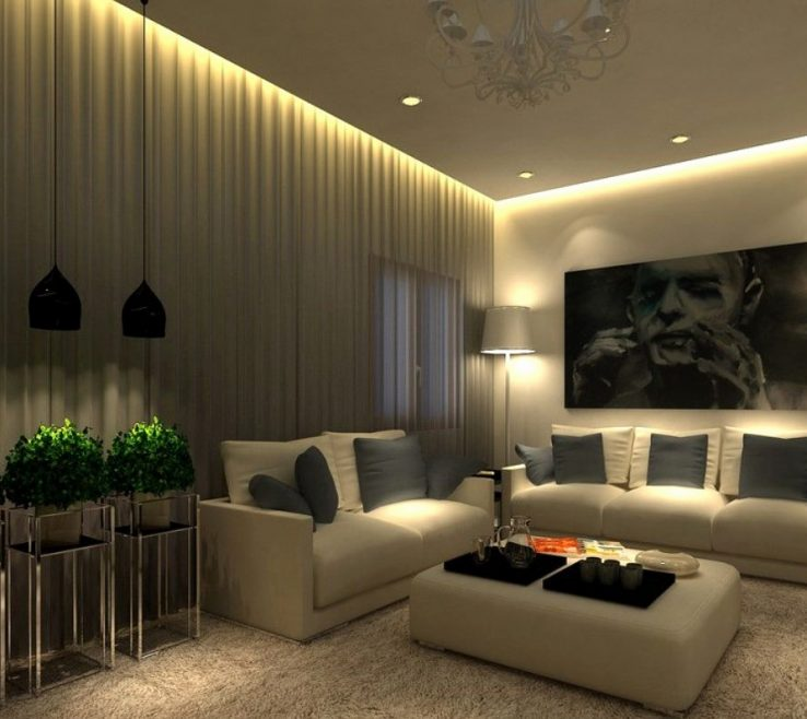 Best Lighting For Living Room Of Amazing Apartment Idea 17 Of Small Home