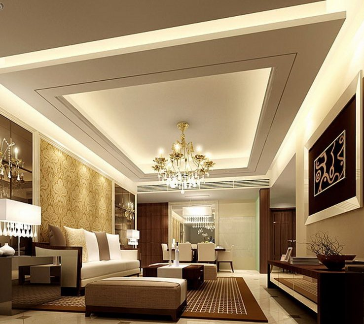 Best Lighting For Living Room Of Gypsum Ceiling Design Home Decorate Ceiling Design