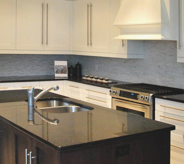 Black Granite Kitchen S Of Stone Diy Contemporary Home Trend
