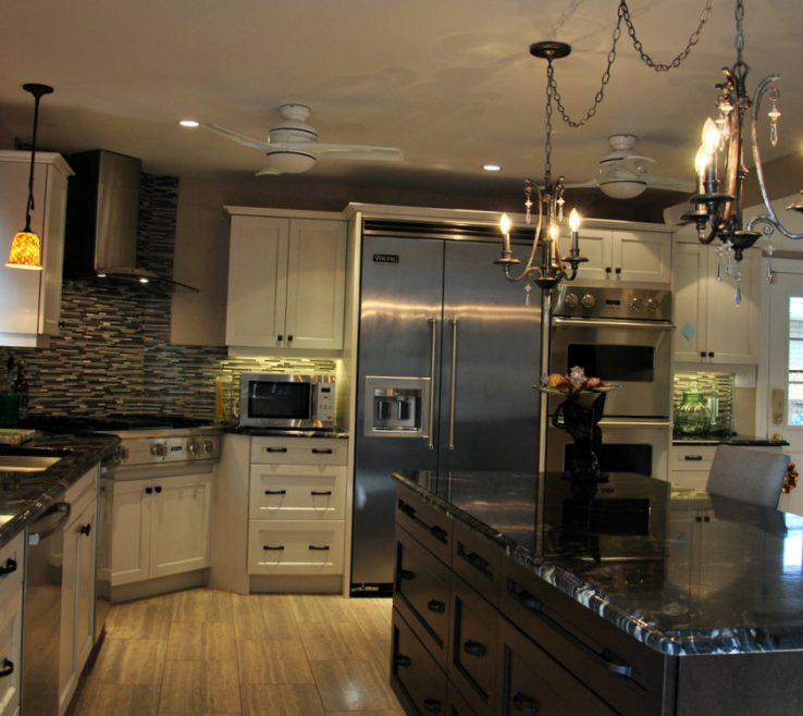 Black Granite Kitchen S Of Titanium