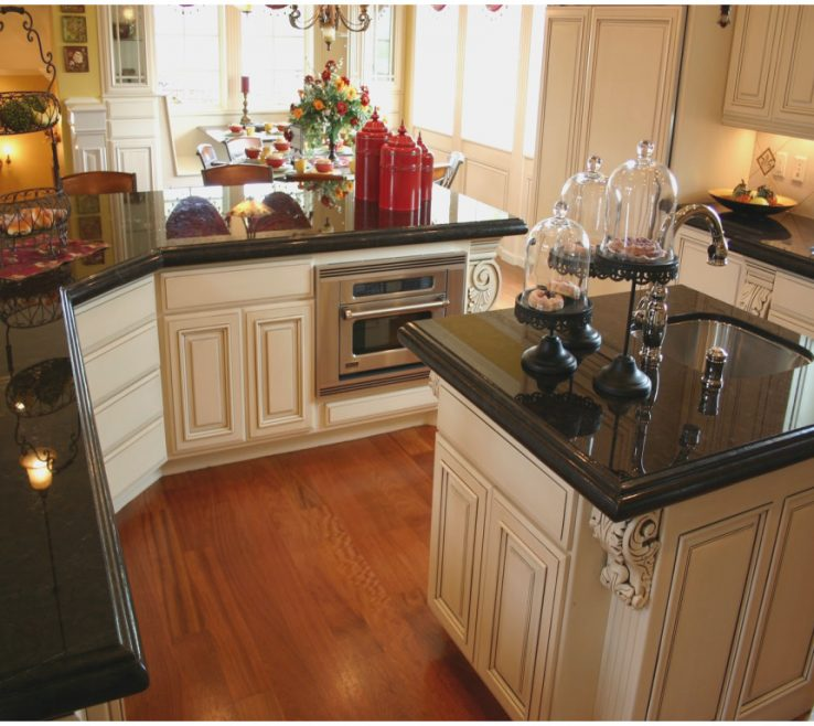 Black Granite Kitchen S Of Unique Absolute Installed Design S And Reviews