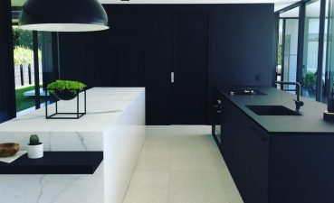 Black Marble Kitchen S Bine