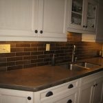 Black Marble Kitchen S Of And White Tile Backsplash Granite And Backsplash