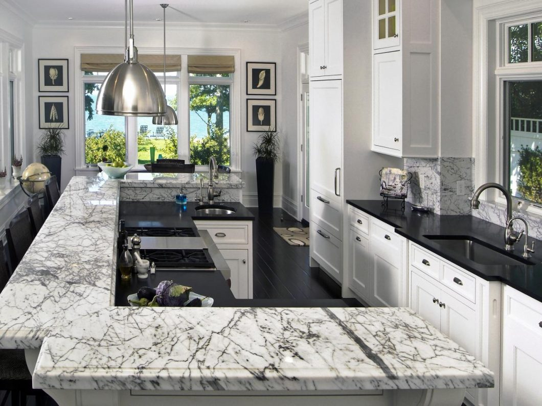 Black Marble Kitchen S Of Awesome And White Granite Saura Dutt Stones