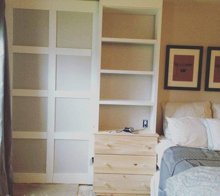 Brilliant Bedroom Built Ins Of Master Wainscotting
