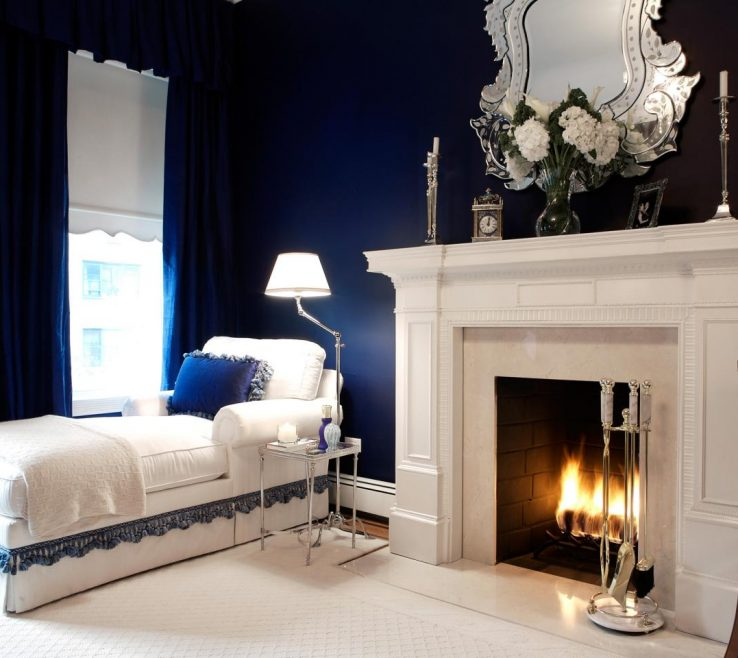 Brilliant Blue Master Bedroom Of Navy Bedrooms