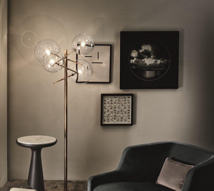 Brilliant Dining Room Floor Lamps Of Modern Lighting Beautiful Modern Overstock Best Living
