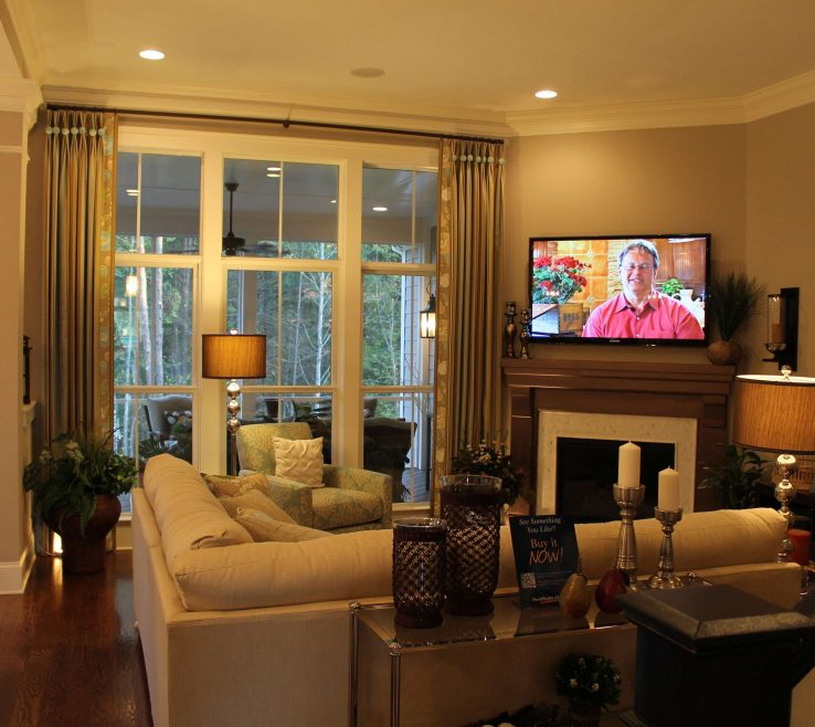 Brilliant How To Decorate A Corner In A Living Room Of Fireplace Design Tv Unique Interior