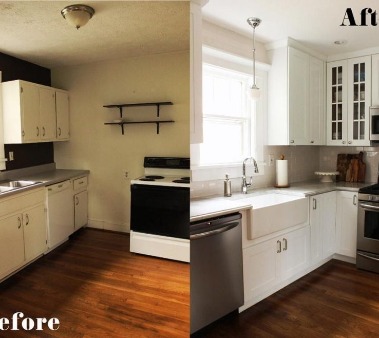 Brilliant Kitchen Remodel Before And After Pictures Of Ideas