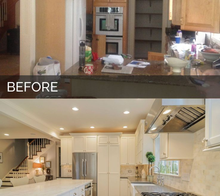 Brilliant Kitchen Renovation Before And After Of Ben Andamp Ellens Andamp Home Remodeling