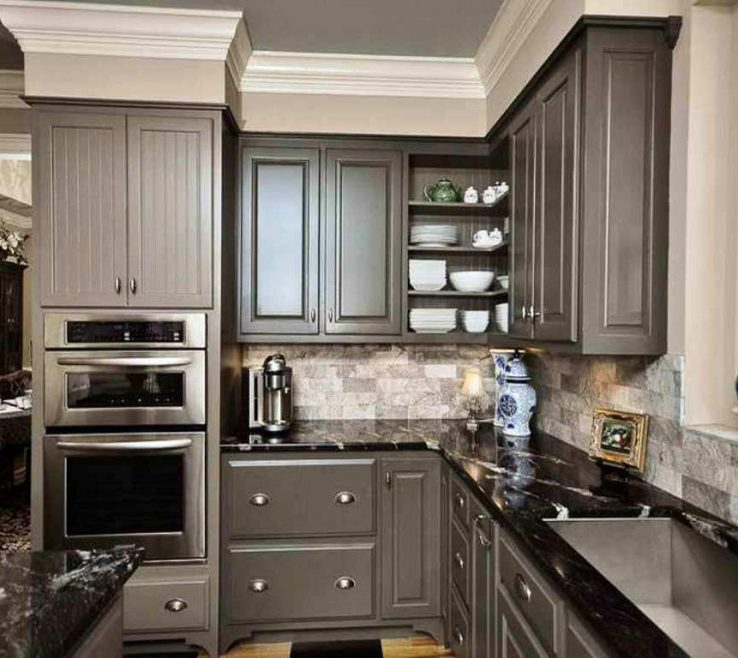 Brilliant Kitchens With Black S Of Grey Kitchen S Independent And Pictures White