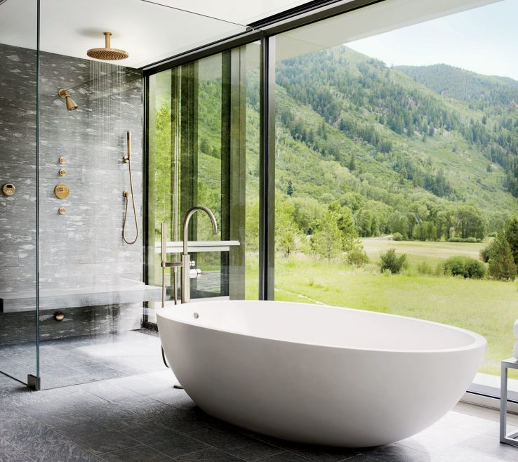 Brilliant Master Bathroom Showers Of 37 Stunning Just As As Tubs