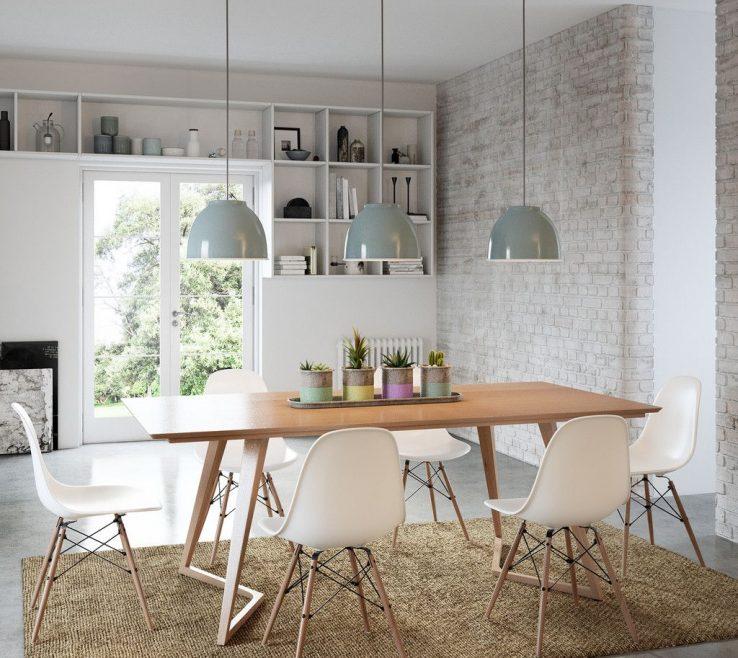 Brilliant Mid Century Dining Room Of Modern Table
