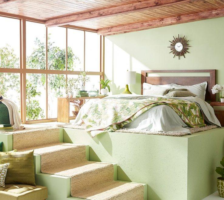 Brilliant Monochromatic Living Room Of Bedroom