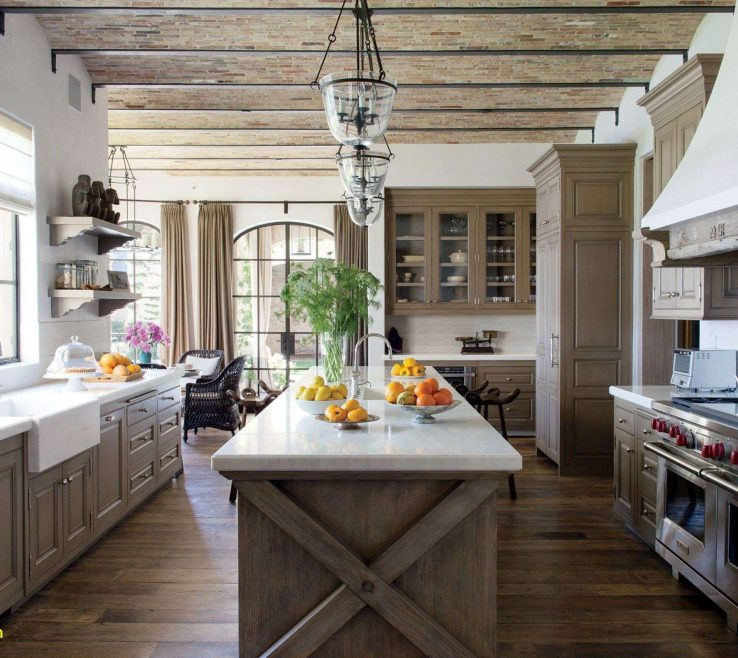 Brilliant Rustic Contemporary Kitchen Of Modern Family Room Design Beautiful Awesome Modern