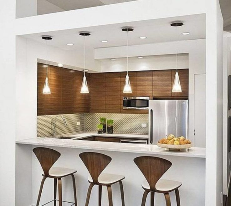 Brilliant Small Kitchen Design With Island Of Ideas Seating Cool Designs