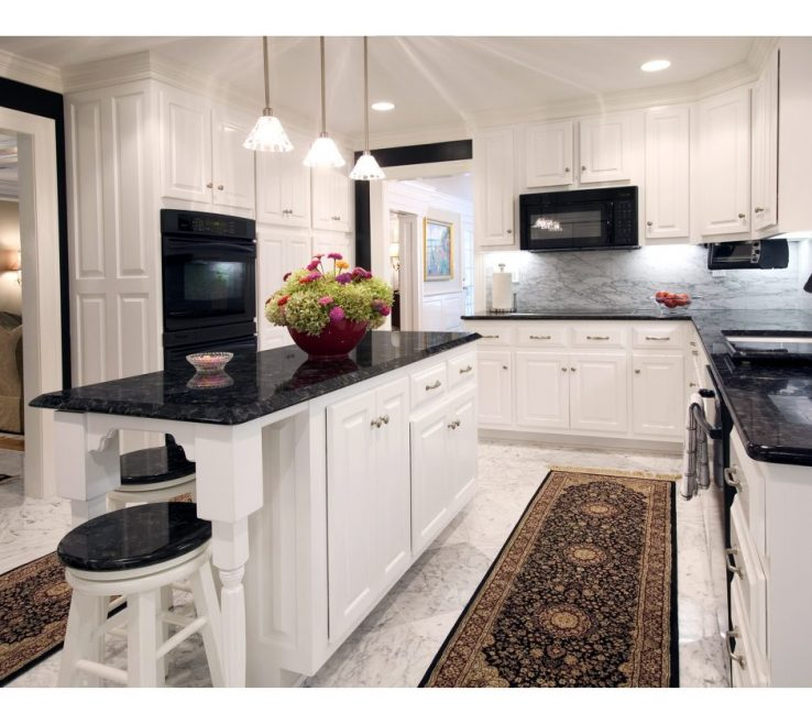 Captivating Black Granite Kitchen S Of Large Size Of Kitchen:adorable And Quartz