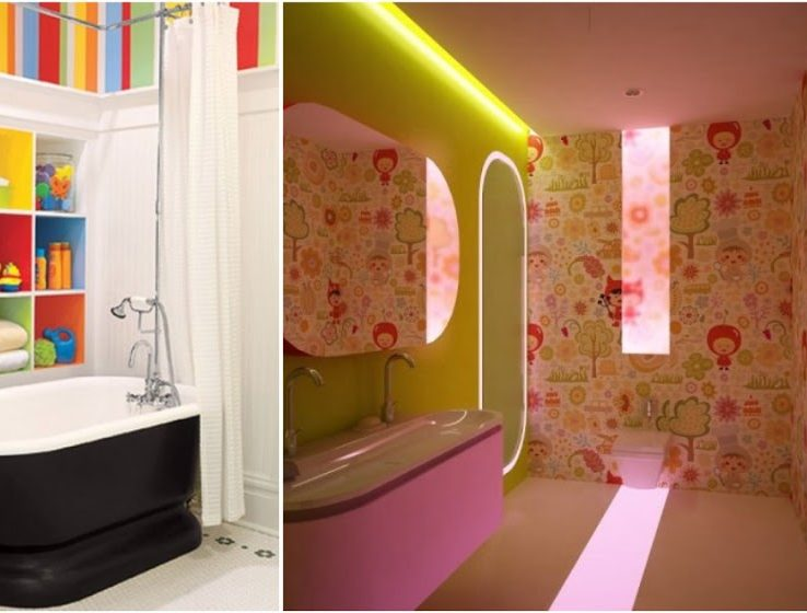 Captivating Colorful Bathrooms Of For Summer