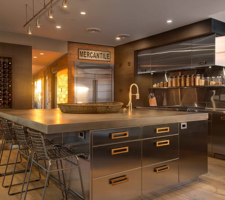 Captivating Contemporary Kitchens Of Trial Kitchen Design