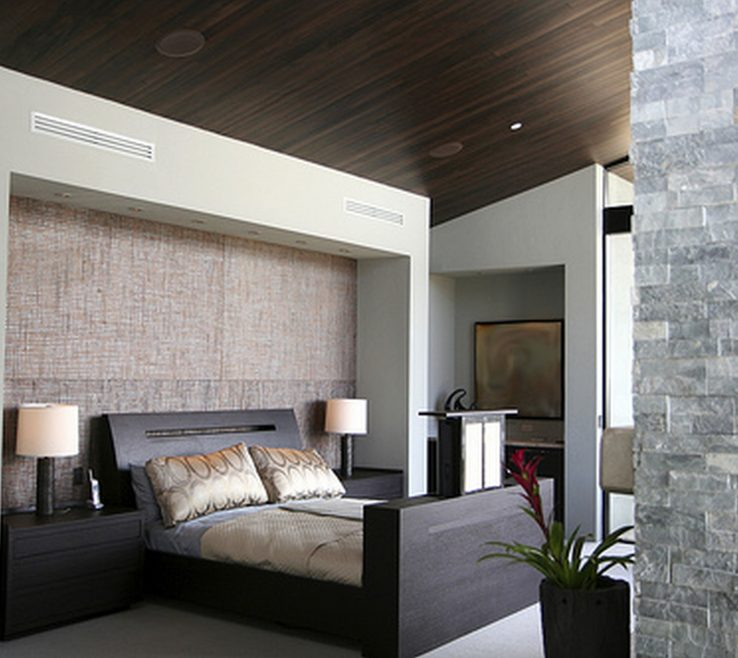 Captivating Contemporary Master Bedroom Of Designs With Ideas