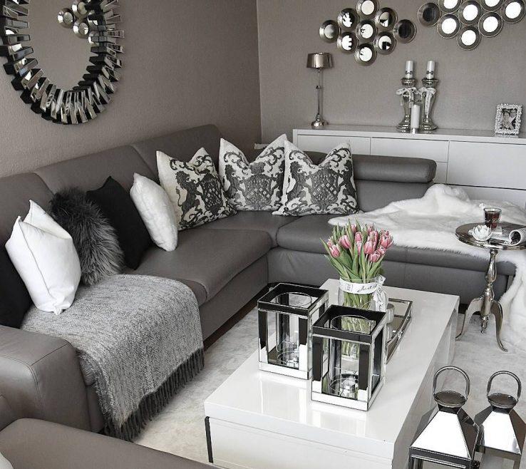 Captivating Grey Living Room Decor Of Ideas Dark Furniture Silver Livingroom Ideas Grey