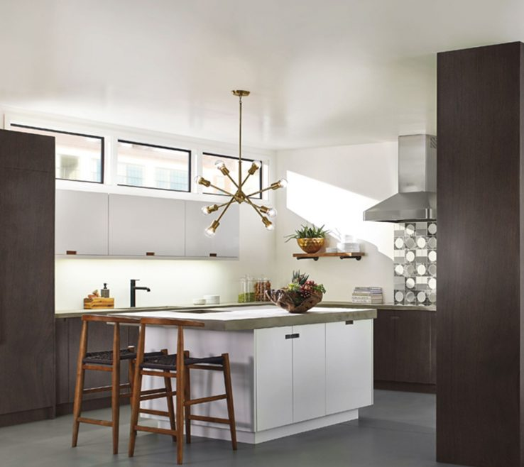 Captivating Modern Kitchen Of Design Trends Armstrong Light Chandelier