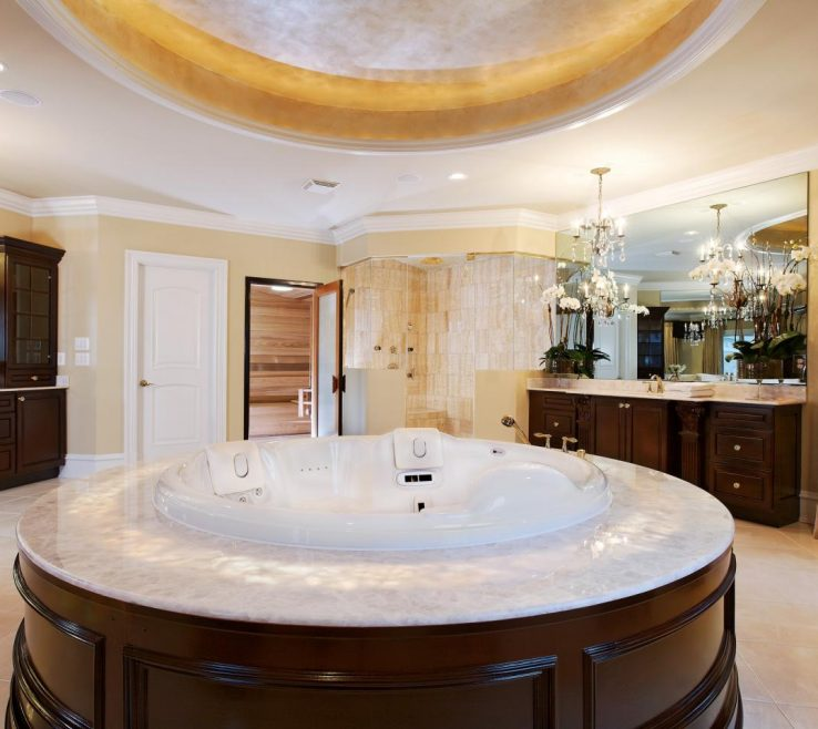 Charming Bathroom Tub Ideas Of Whirlpool Tubs: Designs And Options