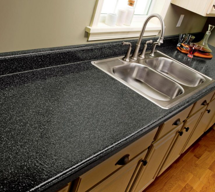 Charming Black Marble Kitchen S Of How To Paint Laminate