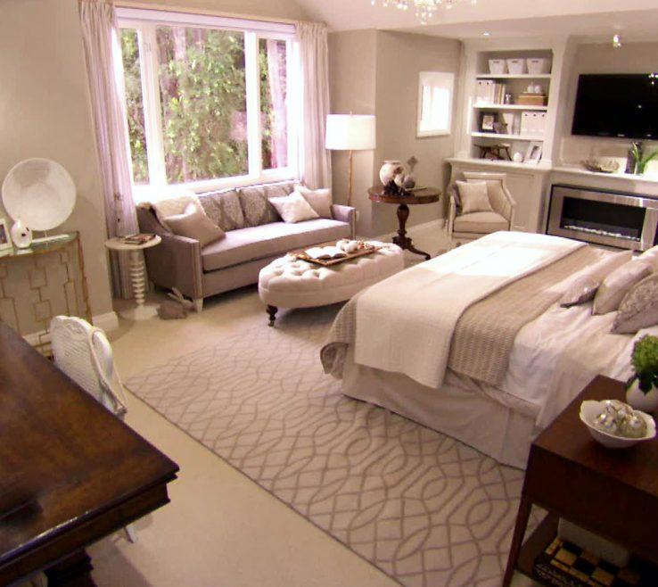 Charming Monochromatic Living Room