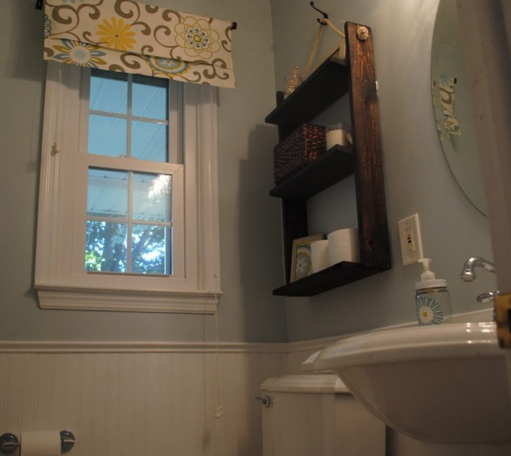 Charming Small Bathroom Makeover Ideas Of Two It Yourself: Reveal: $100 Makeover!!! (tons