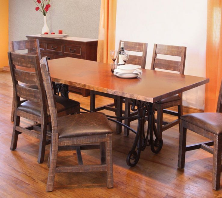 Charming What To Put In The Middle Of Your Kitchen Table Of Valencia Rectangular Dining Dark
