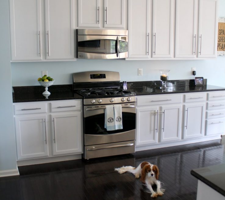 Charming White Kitchen S With Black S Of Examples