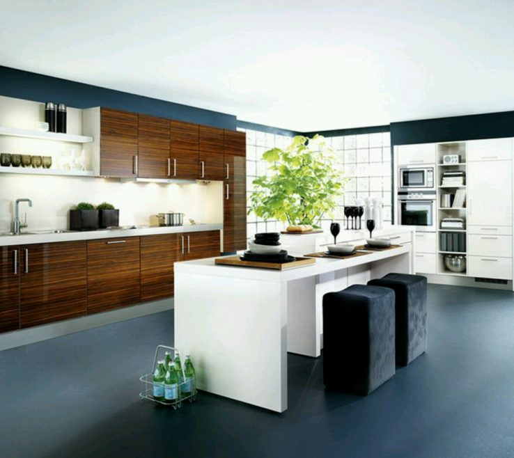 Contemporary Kitchen Designs Of White S Gloss Modern Modular S