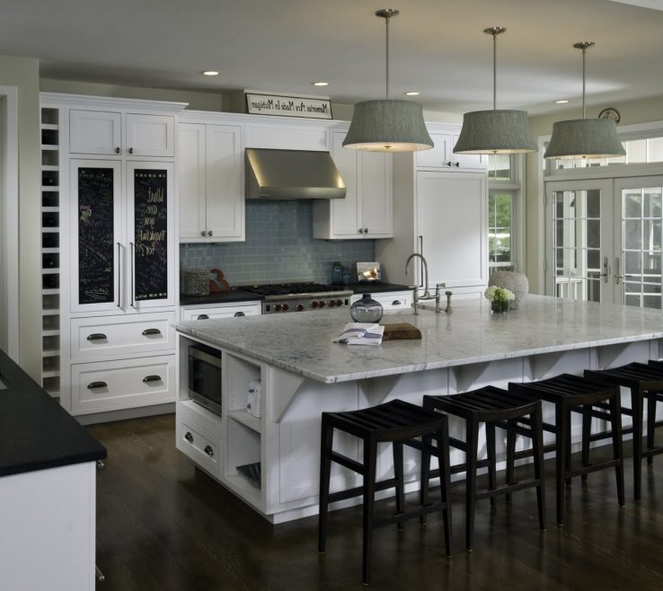 Contemporary Kitchens Of Great Kitchen Ideas With Amazing Model White