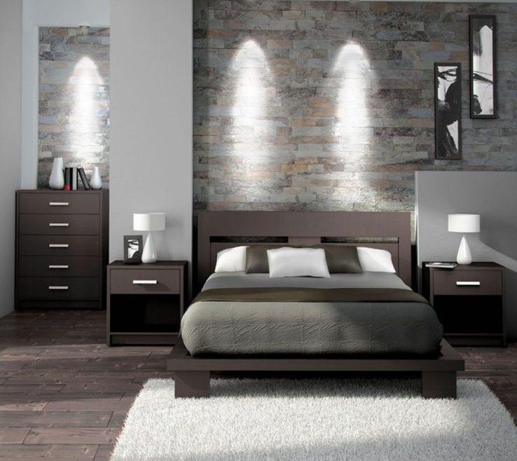 Contemporary Master Bedroom Of Elegant Furniture